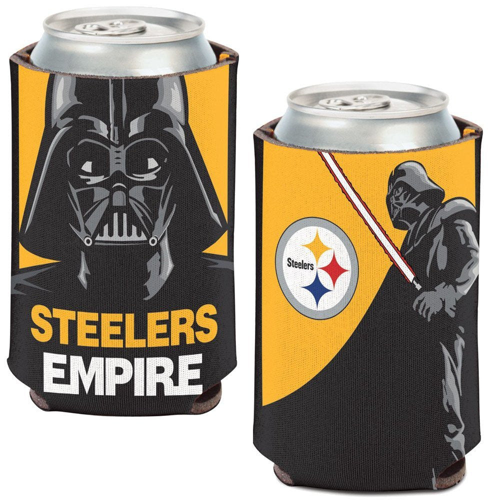 Pittsburgh Steelers Darth Vader Can Coozie (12 oz)