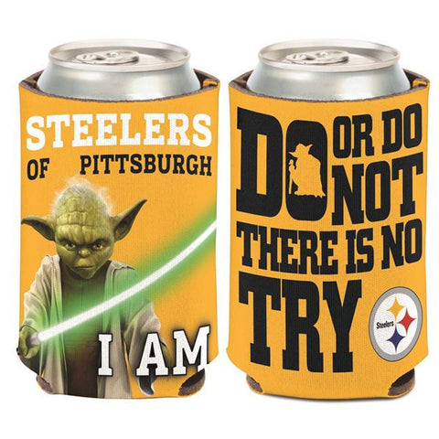 Pittsburgh Steelers Yoda Can Coozie (12 oz.)