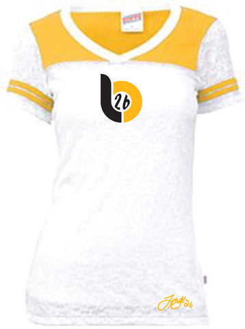 Le'Veon Bell 'LB26' Woman's 2 Color Football Tee