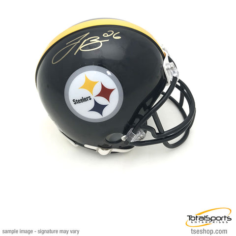 Le'Veon Bell Autographed Pittsburgh Steelers Black Mini Helmet