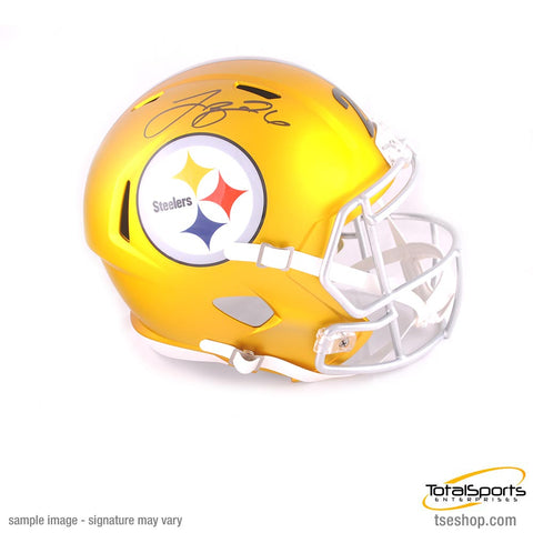 Le'Veon Bell Autographed Full-Size Pittsburgh Steelers BLAZE Replica Helmet - TSE Exclusive