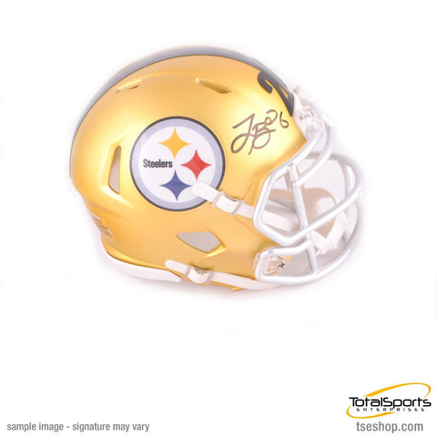 Le'Veon Bell Autographed Pittsburgh Steelers BLAZE Mini Helmet - TSE Exclusive