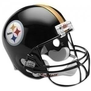 PRE-SALE: Marcus Allen Signed Pittsburgh Steelers Black Replica Full Size Helmet
