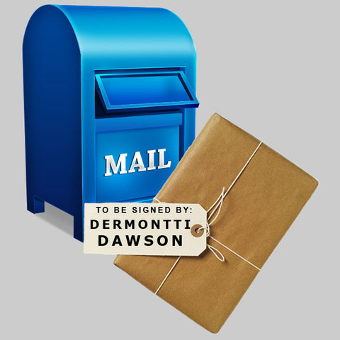 MAIL IN: Dermontti Dawson ANY ITEM