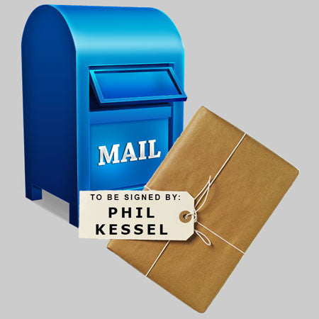 MAIL-IN: Get YOUR Flat, Puck, Mini Helmet or Mini Hockey Stick Signed by Phil Kessel