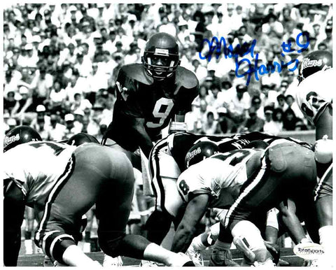 Major Harris Signed Black and White 8x10 Photo