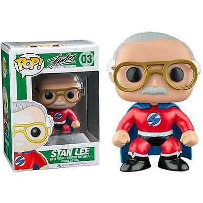 Stan Lee Signed Funko Pop Figurine