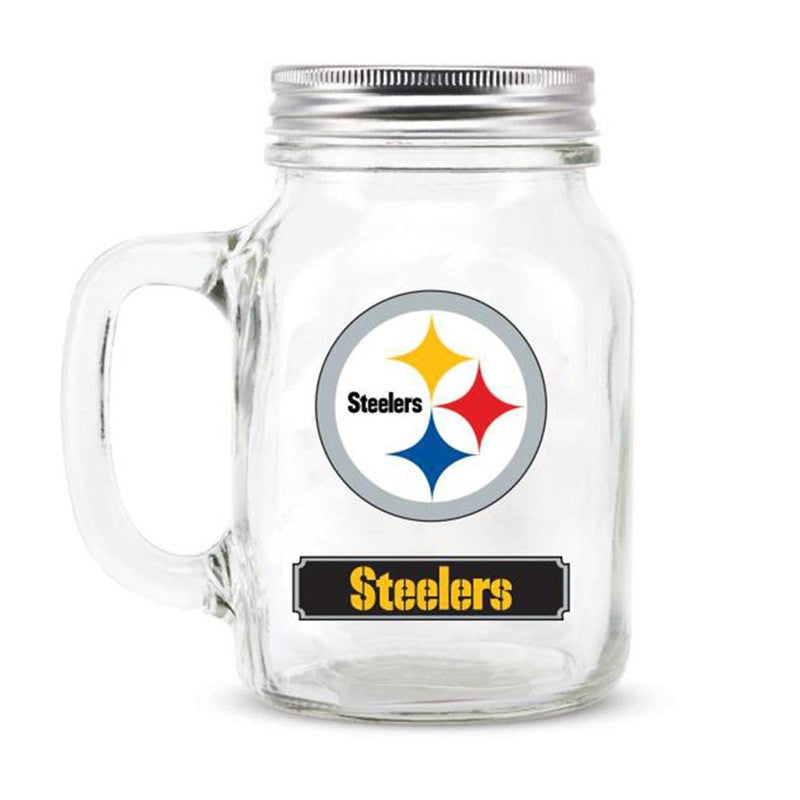 Steelers Mason Jar