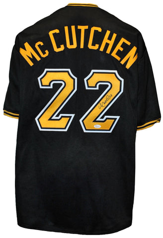 Andrew McCutchen Autographed Pittsburgh Pirates Black Custom Jersey