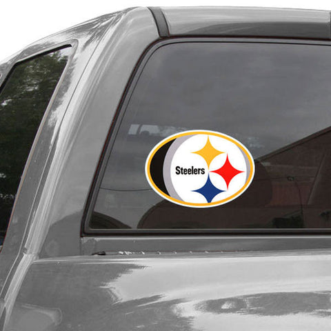 Steelers Mega Decal 12x12 Color