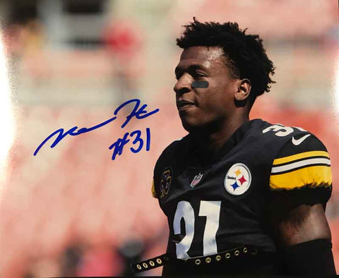 Mike Hilton Signed Close-up 8x10 Photo
