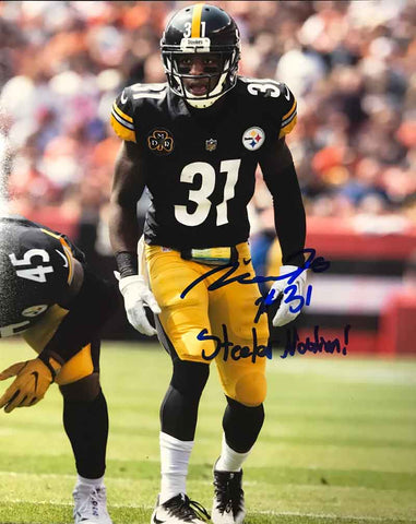 Mike Hilton Signed In-Game (Ready) 8x10 Photo with Steeler Nation