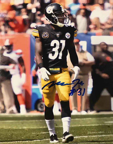 Mike Hilton Signed In-Game (Walking) 8x10 Photo with Steeler Nation