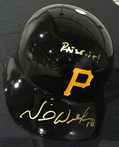 Neil Walker Autographed Full Sized Helmet with
