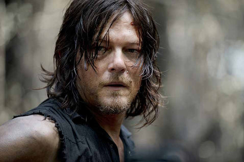 Walking Dead Norman Reedus Close-up Unsigned 16x20 Photo