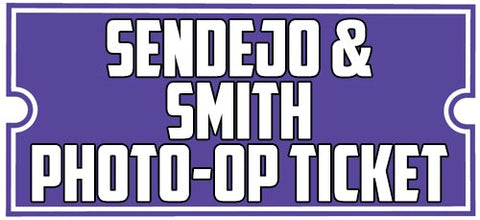 PHOTO-OP TICKET: Good For One Photo-op with HARRISON SMITH AND ANDREW SENDEJO