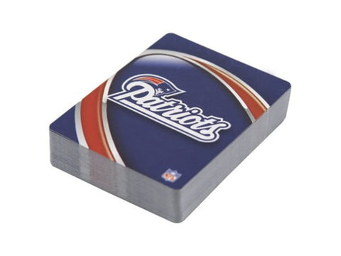 New England Patriots Playing Cards ( 1 Decks Playing Card) - Officially Licensed Product