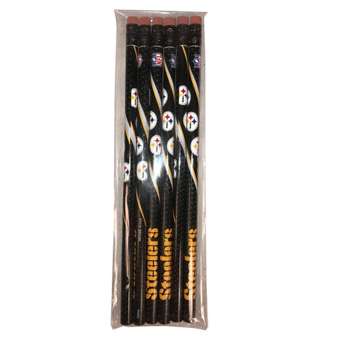 Steelers Pencil 6 Pack