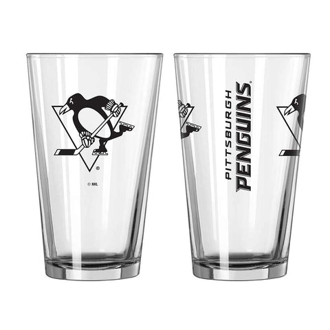 Penguins 14 oz. Game Day Pint Glass