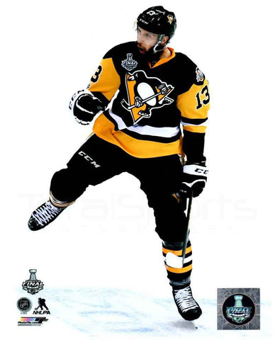 Nick Bonino Celebrating 2017 SC Goal 8x10 - Unsigned