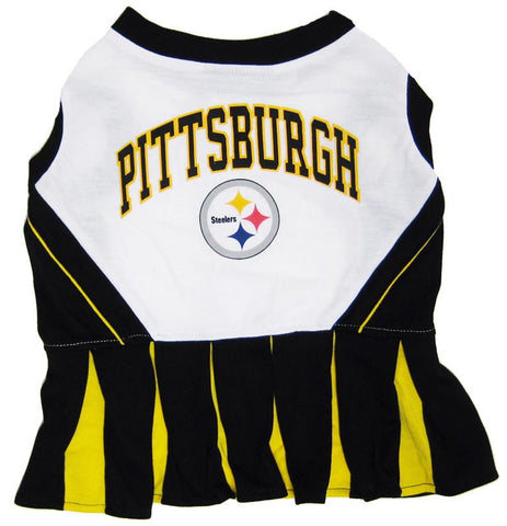 Steelers Pet Cheerleader Outfit (M)