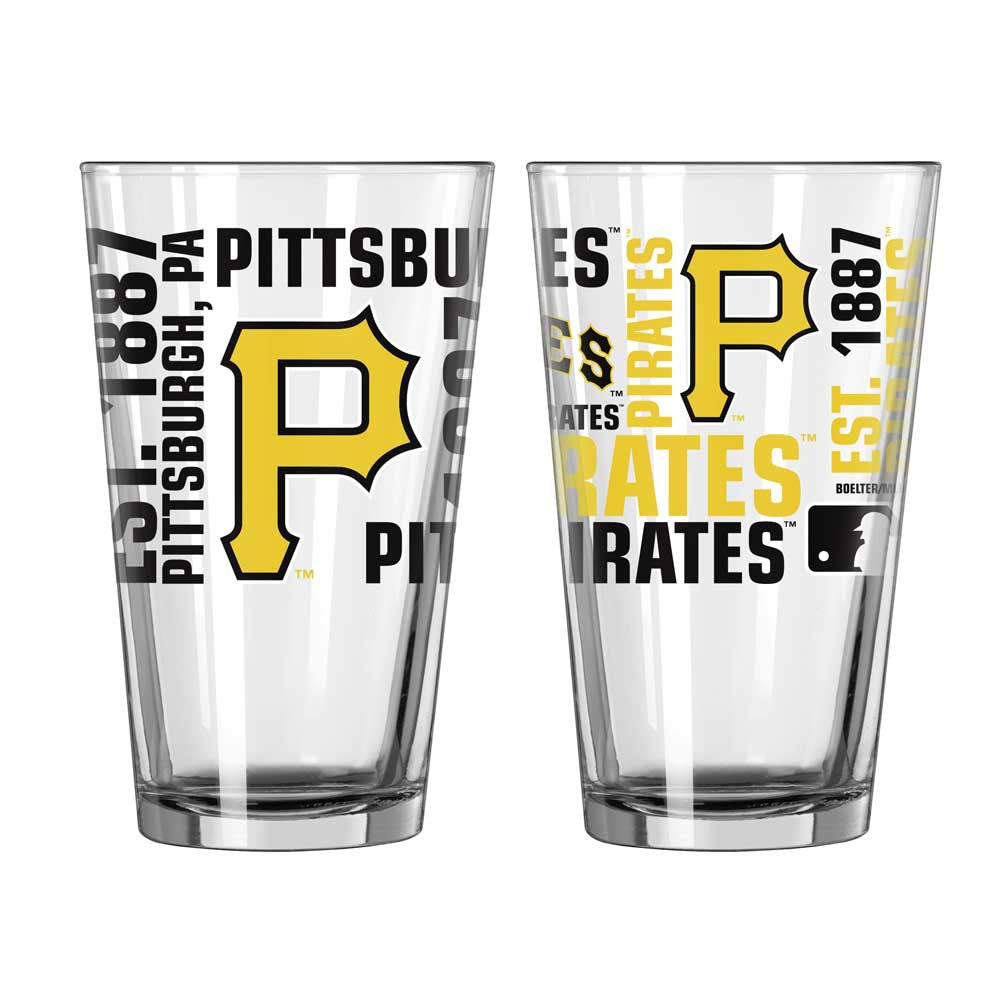 Pirates Spirit Pint Glass