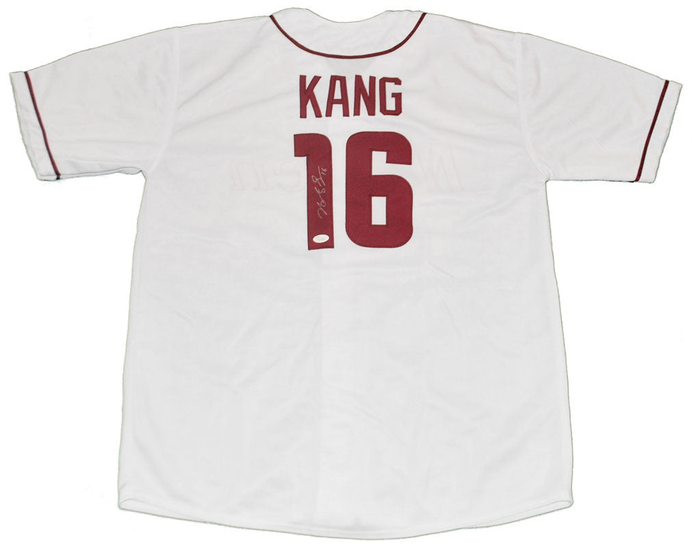 Jung-ho Kang Autographed Pittsburgh Pirates Custom White Nexen Jersey
