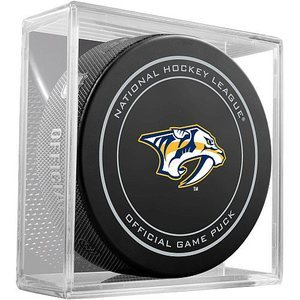 PRE-SALE: RYAN JOHANSEN Signed Nashville Predators Game Model Puck