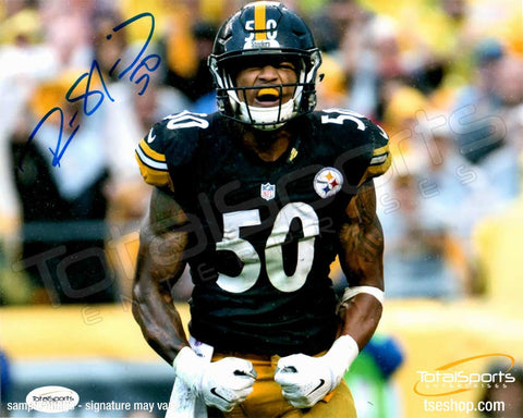 Ryan Shazier Autographed Arms Down 16x20