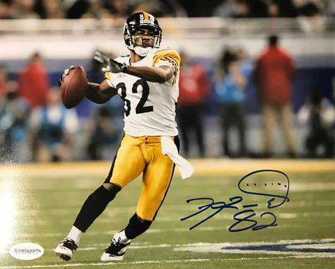 Antwaan Randle-El Autographed Ready to Throw 16x20 Photo