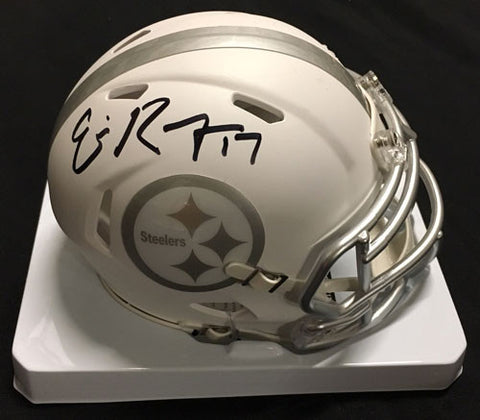 Eli Rogers Autographed Pittsburgh Steelers ICE Mini Helmet