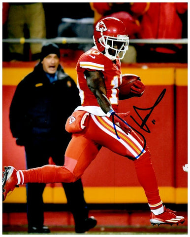 Tyreek Hill Signed Talk to the Hand 8x10 Photo
