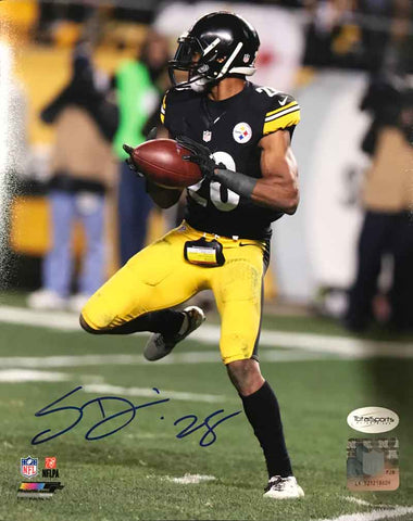 Sean Davis Signed with Football 8x10 Photo