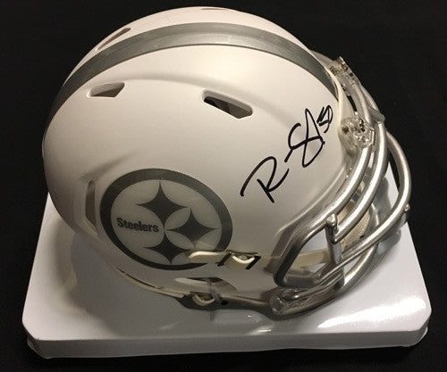 Ryan Shazier Autographed Pittsburgh Steelers ICE Mini Helmet