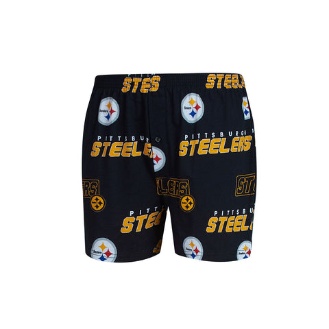 Men's Steelers Slide Knit Boxer