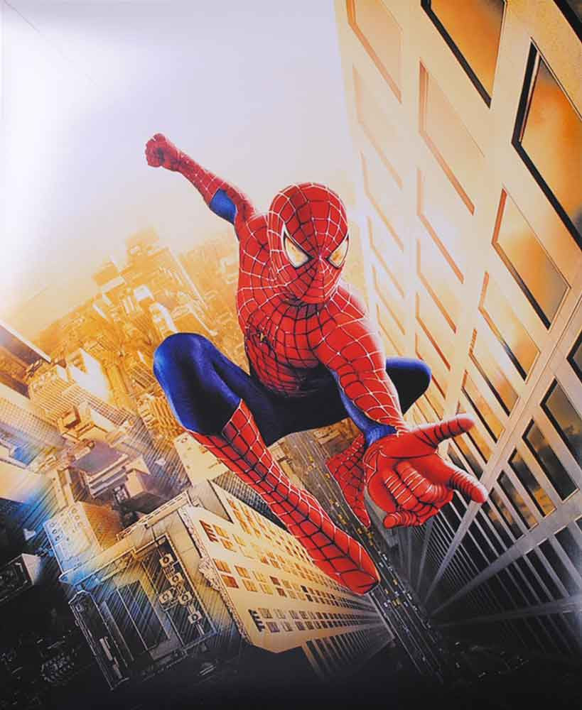 Avengers Spiderman 16x20 (vertical) Photo - Unsigned
