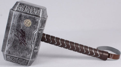 Marvel's Avengers -  Thor Hammer (movie style) Signed by Stan Lee
