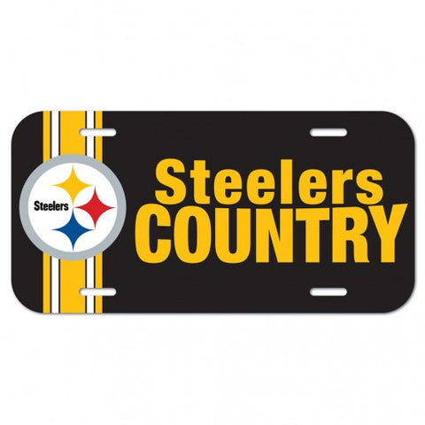 PITTSBURGH STEELERS COUNTRY License Plate