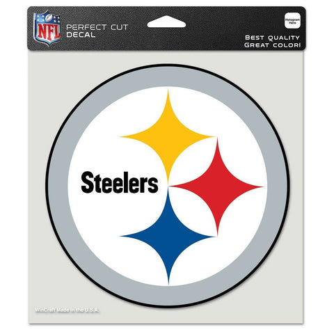 Steelers Static Cling Decal 5x5 Color
