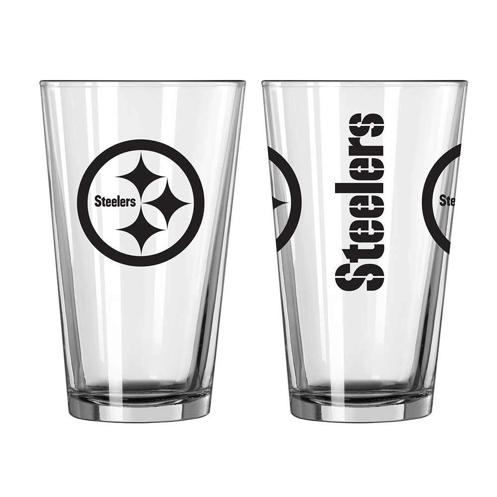Steelers 14 oz Game Day Pint Glass