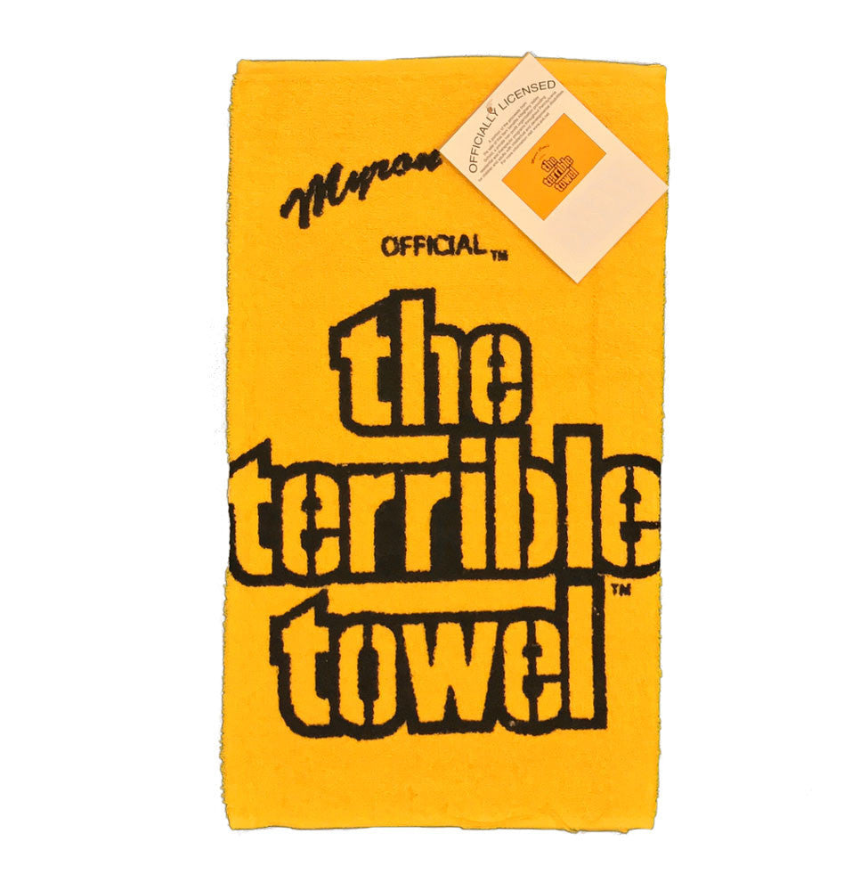 Steelers Throwback Terrible Towel