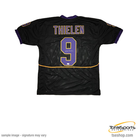 Adam Thielen Signed Custom College Jersey