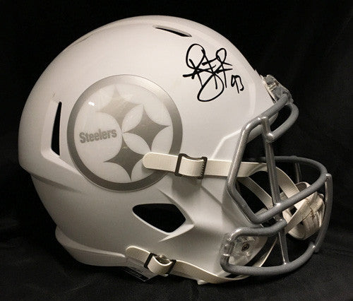 Troy Polamalu Autographed ICE SPEED Replica Full-Size Helmet
