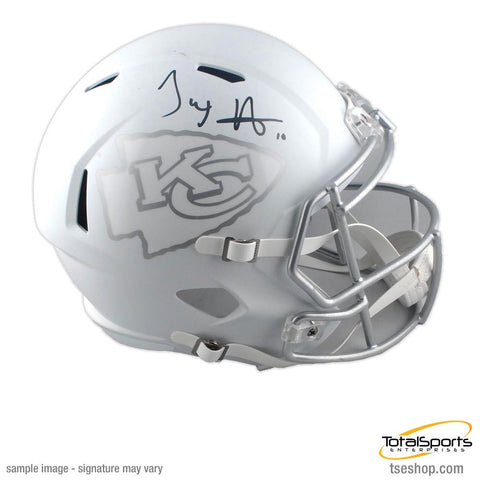 Tyreek Hill Signed Kansas City Chiefs ICE FS Helmet