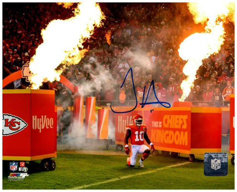 Tyreek Hill Signed FIRE! 16x20 Photo