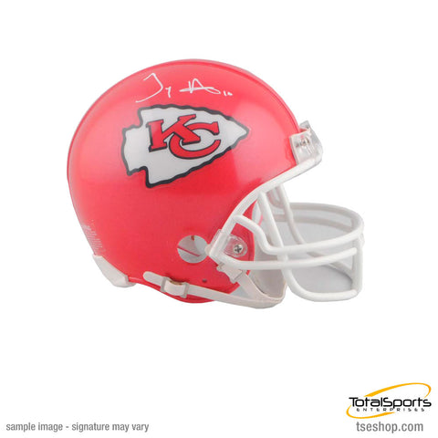 Tyreek Hill Signed Kansas City Chiefs Mini Helmet