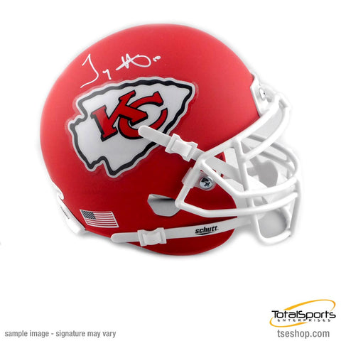 Tyreek Hill Signed Kansas City Chiefs Matte Mini Helmet