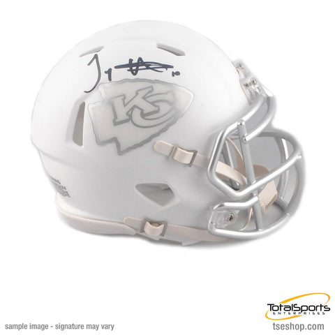 Tyreek Hill Signed Kansas City Chiefs ICE Mini Helmet