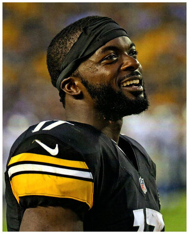 Eli Rogers Vertical Close-up with Headband Unsigned 8x10 Photo