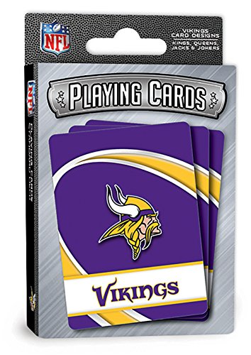 Minnesota Vikings Playing Cards Full Deck Standard Size